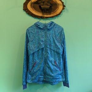 Lululemon Ivivva rain jacket size 14 in EUC